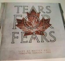Tears For Fears live at the massey Hall 1985 CD RSD + ULTRAVOX VIENNA Rsd 2021