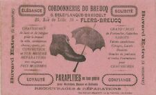 BUVARD 111393 CORDONNERIE DU BREUCQ PARAPLUIE