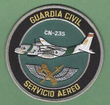 SPAIN GUARDIA CIVIL NATIIONAL POLICE SERVICIO AERO CN-235 PATCH