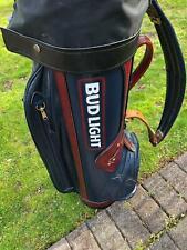 Budweiser Beer Golf Bag Golfing Busch Man Cave Clubs Collectable