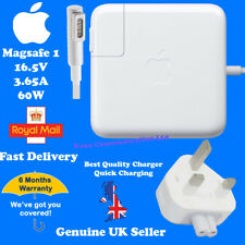 Apple 60w MacBook Pro Magsafe 1 Charger Power Cable Adapter UK Plug