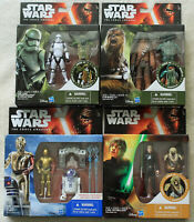 Lot of 4 - Star Wars Armor Up Different Action Figures Hasbro 2015 NIB