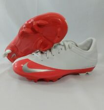 Nike Mercurial Veloci FG Womens Size 5.5 White Orange Soccer Shoes Cleats
