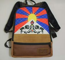 tibetan flagged bagpack