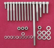 LOTUS FORD CROSSFLOW TWIN CAM  ENGINE FRONT COVER  stainless steel bolt kit