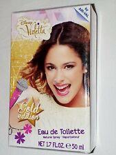 Disney Princess Perfume Character Violetta Bottle Girl 50ml Eau De Toilette New