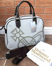 VIVIENNE WESTWOOD LARGE ICONIC ORB TOTE OVERNIGHT BAG RETAIL £520 MADE IN ITALY
