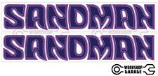 Holden HX-HZ- 07 - SANDMAN Purple - Stickers