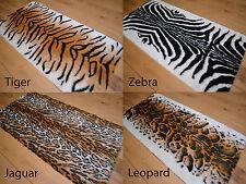 Soft Fluffy Faux Fur Bedroom Fake Animal Skins Print Design Skin Rugs Rug Mats