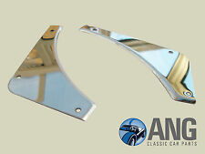 MGB, MGB-GT, MGC REAR BUMPER STAINLESS STEEL INFILL PANELS KIT AHH7278/9