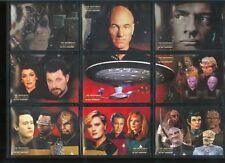 Quotable Star Trek TNG Space Final Frontier Set ST1-ST9