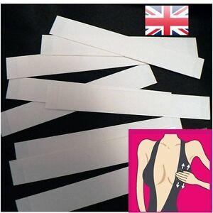 Double Sided Body Tape Fashion Toupee Breast Wig Lingerie Dress Boob strips  UK