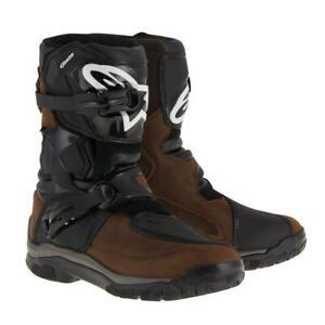 NEW Alpinestars Belize Drystar Short Boots - Brown from Moto Heaven