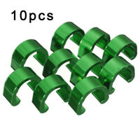 10 Pcs Bike Bicycle Cycle MTB C-Clips Buckle Hose Brake Gear Cable Housing Guide
