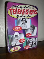 Leading Ladies of Televisions Golden Age (DVD, 2010, 2-Disc Set, Tin Case,NEW)
