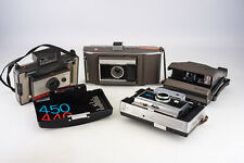 Lot of 4 Vintage Polaroid Cameras Spectra 450 J66 104 for PARTS OR REPAIR V14