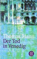 Der Tod in Venedig. Novelle. von Mann, Thomas | Buch | Zustand akzeptabel
