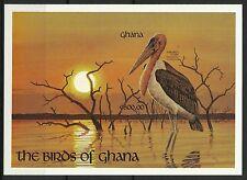Ghana Oiseaux Marabout stork Birds Marabu Vogel Aves Non Dentele Imperf ** 1992