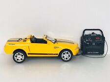 New Bright Ford Mustang GT Radio Control with Remote Yellow