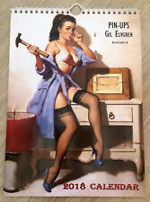 Gil Elvgren Wall Calendar 2018 Pin Up Erotic Glam Sexy Girl Retro A4 New Edit 3