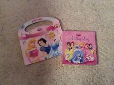 Disney Princess A Busy Day and Princess A B C's And 1 2 3 's not CD