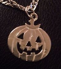 Sterling Silver Pumpkin Charm C11