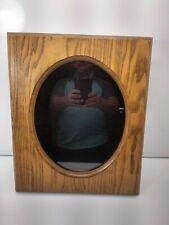 Custom Solid OAK Wood Shadow Box Display Case Frame Wall Hanging Amish Made