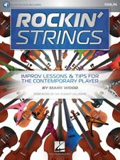 Rockin' Strings: Violin Improv Lessons and Tips for the Contemporary 000192245