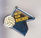 RARE PINS PIN'S .. SPORT VOLLEY BALL CLUB TEAM BINCHE BELGIQUE ~CK
