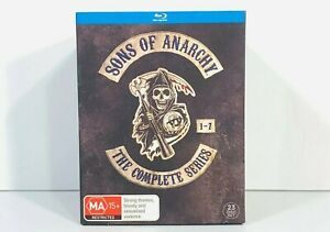 Sons of Anarchy: Complete Series Blu Ray | Season 1 2 3 4 5 6 7 | SOA Like New