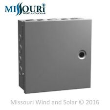 Medium Steel Electrical Enclosure Project Box hinged cover 12 x 12 x 4