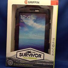 New! GRIFFIN SURVIVOR CASE FOR SAMSUNG GALAXY TAB 3 (7.0), BLACK