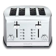 Luxurious 4-Slice Toaster Brushed and Chrome Stainless ,Limited, Guarantee