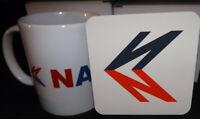 Bus Related Mug and Coaster Set