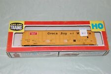 Life-Like Thrall Door Box Car Green Bay and Western 08990 HO Scale
