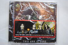 ESCAPE THE FATE THIS WAR IS OURS CD NEW SEALED 2008 EPITAPH EUROPE 12 TRACKS