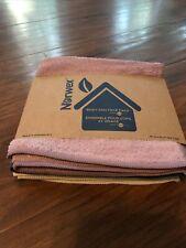 Norwex BODY CLOTH - TRANQUIL 3 PACK - Purple Blue Vanilla - Microfiber BacLock
