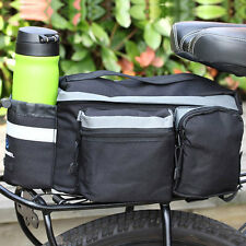 New Portable Cycling Bicycle Large Storage Handbag Pannier Saddle Rear Bike Bag