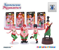 PROSTO TOYS, Bremen town musikanty, ROBBRERS  Active Figure, Cartoon Character