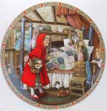"""Knowles Collector's Plate """"Little Red Riding Hood"""" 1st issue Mib 1988 BradEx"""