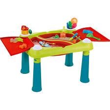 aufklappbarer Spieltisch für Kinder Sand Kindertisch Keter