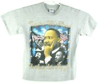 Martin Luther King Black History Two Sided T Shirt Size XL 2002