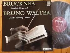 Bruckner: Symphony No. 9 in d-mol BRUNO WALTER / PHILIPS LP RAR!