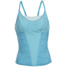 Nike Fitness Damen Corset Shirt Tank Fitness Top 226153-470 Gr. S blau neu