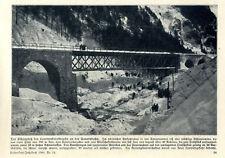 Feuerwehr fand 20 Leichen nach Lawinenkatastrophe an der Tauernbahn von 1909