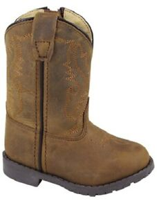 Smoky Mountain Boots Size 6 D Hopalong Brown Distress Leather 3234T