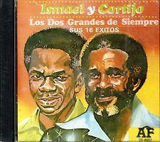 Ismael y Cortijo Los Dos Grandes de Siempre  SUS 16 EXITOS BRAND  NEW SEALED  CD