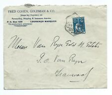 MOZAMBIQUE: Cover fr60 c to Transvaal 1929.