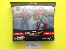 """New listing Marvel Legends Spider-Man Homecoming Sentry Iron Man 2-Pack 6"""" Tom Holland"""