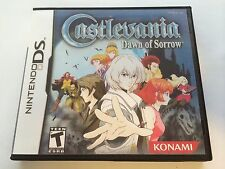 Castlevania Dawn of Sorrow - Nintendo DS - Replacement Case - No Game